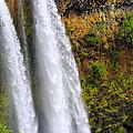 Wailua Falls Up Close by Kenneth Sponsler