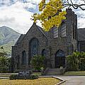 Wailuku Church by Carol Ellerton