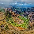 Waimea Canyon by Ian Stotesbury