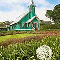 Waimea Church by Dan Sabin