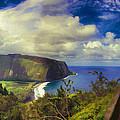 Waipo Valley Lookout-big Island Hawaii by Douglas Barnard