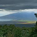 Waipoli Kula View Of West Maui From Haleakala by Sharon Mau