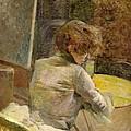 Waiting At Grenelle by Henri de Toulouse-Lautrec