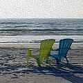 Waiting For Sunset by Gerald Marella