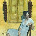 Waiting I by David Riley