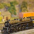 Waiting Model Train  by Patrice Zinck
