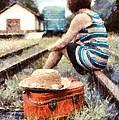 Waiting On A Train 3 by Edward Fielding