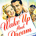 Wake Up And Dream, Us Poster, From Left by Everett