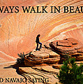 Walk In Beauty by David Lee Thompson