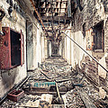 Walk Of Death - Abandoned Asylum by Gary Heller