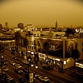 Walk Of Fame Hollywood In Sepia by Monique's Fine Art