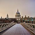 Walk To St Pauls by Heather Applegate