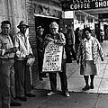 Walking Billboard Nevada Club Reno Nevada 1977 by David Lee Guss