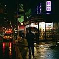 Walking Home In The Rain by Miriam Danar