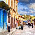 Walking In San Cristobal De Las Casas by Mark Tisdale