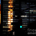 Walking Man - Architecture Of New York City by Miriam Danar