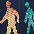 Walking Man Symbol by Sonali Gangane