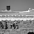 Walking On The Fortification by George Atsametakis
