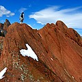 Walking The Ridge by George Tuffy