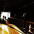 Walking Through History - Elizabethton Tennesse Covered Bridge by Denise Beverly