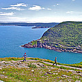 Walking Trails Everywhere In Signal Hill National Historic Site In St. John's-nl  by Ruth Hager