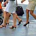 Walking With High Heels by Tina M Wenger