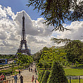 Walkway To The Eiffel Tower by Tim Stanley