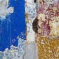 Wall Abstract 142 by Maria Huntley