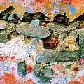 Wall Abstract 15 by Maria Huntley