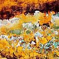 Wall Abstract 28 by Maria Huntley