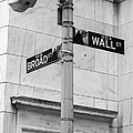 Wall And Broad by Jerry Fornarotto