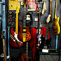 Wall Of Guitars by Christopher Holmes