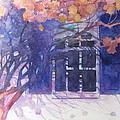 Wall Of Hydrangea by Sherri Snyder