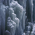 wall of ice in Partnach gorge 3 by Rudi Prott