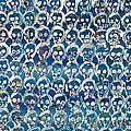 Wall Of Skulls by Fabrizio Cassetta