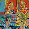 Wall Painting 2 In Wat Po In Bangkok-thailand by Ruth Hager