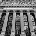 Wall Street New York Stock Exchange Nyse Bw by Susan Candelario