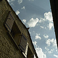 Wall With Clouds by M N