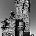 Wallace Monument Monochrome by John Topman