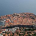 Walled City Of Dubrovnik by David Nicholls