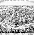 Wallenstein's Army Besieges  Leipzig by Mary Evans Picture Library