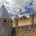 Walls Of Carcassonne by Dave Mills