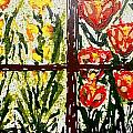 Walls Of Heavenly Flowers by Baljit Chadha
