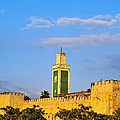 Walls Of Meknes In Morocco by Karol Kozlowski