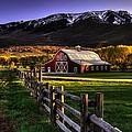 Wallsburg Red Barn by Ryan Smith