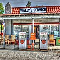 Wally's Service Station by Dan Stone