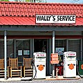 Wally's Service Station Mayberry Nc by Bob Pardue