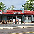 Wallys Service Station Mt. Airy Nc by Bob Pardue