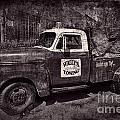 Wally's Towing Bw by David Arment