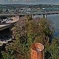 Walnut Street Bridge Chattanooga by Clayton Brandenburg
